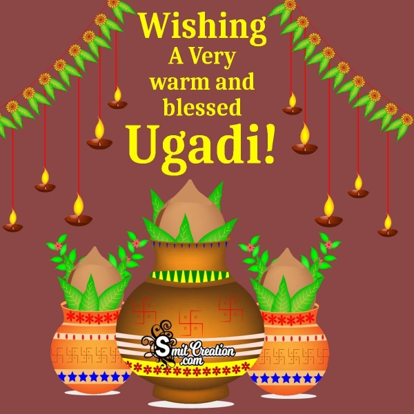 Wishing A Very Warm And Blessed Ugadi