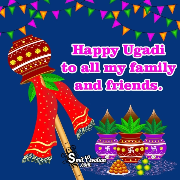Happy Ugadi Image For Family And Friends