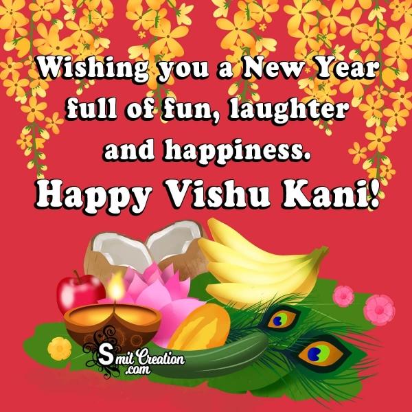 Happy Vishu Kani Wish Image