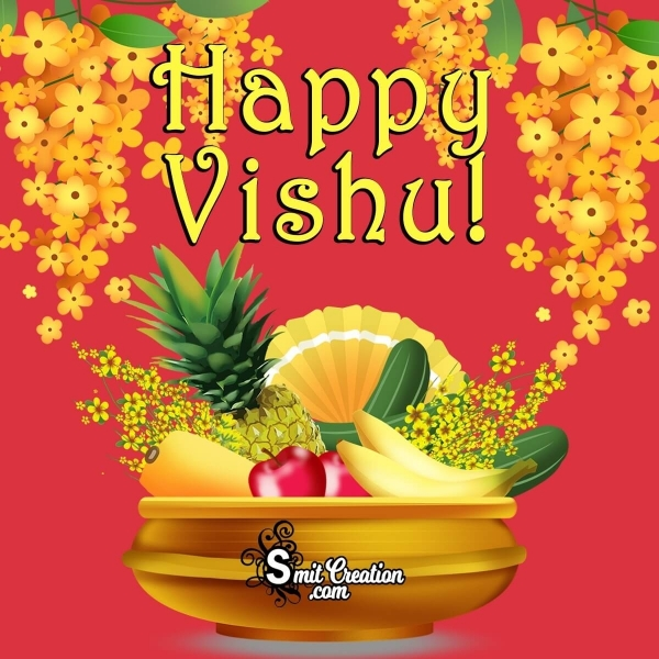 Happy Vishu Kani Image
