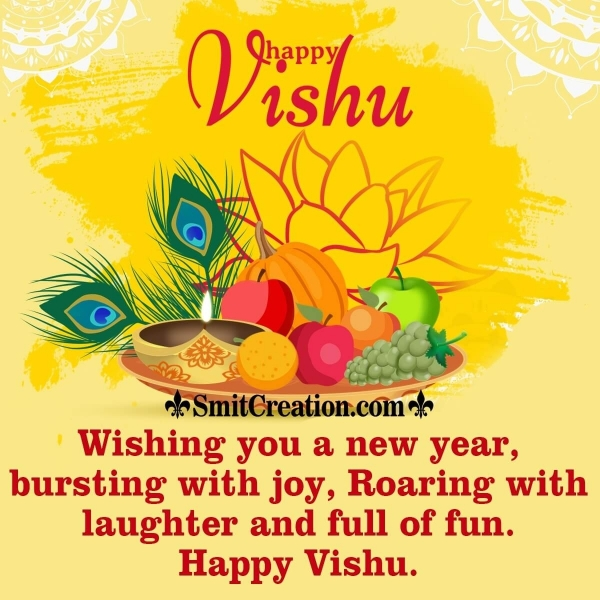 Happy Vishu Wish Image