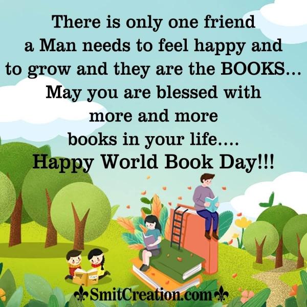 Happy World Book Day Wish Image