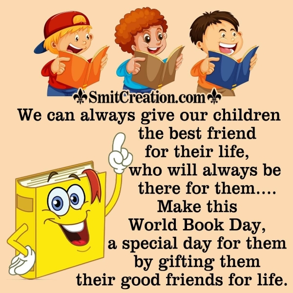 Happy World Book Day Message For Parents