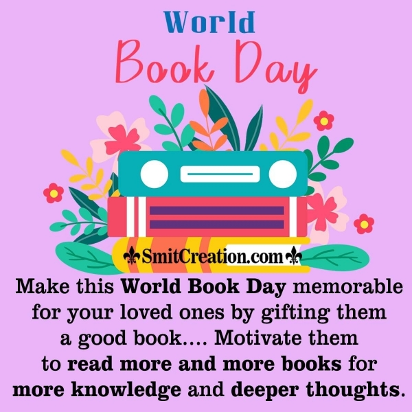 World Book Day Message