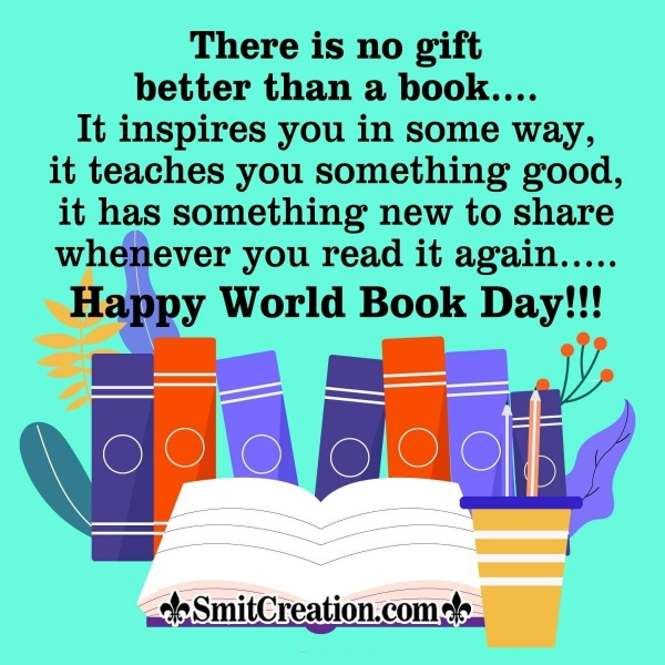 Happy World Book Day Message