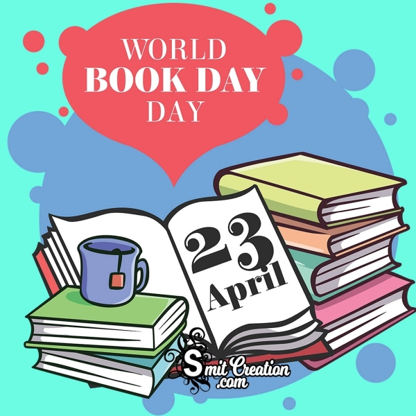 23 April World Book Day Greeting