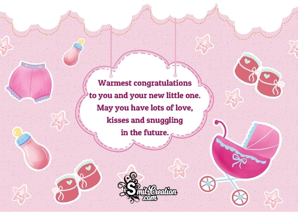 Warmest Congratulations On Baby Shower