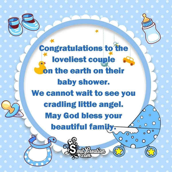 Congratulations On Baby Shower