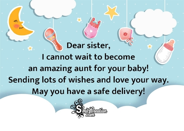 Baby Shower Wishes To Sister