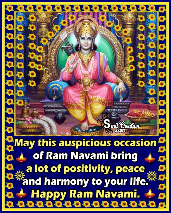 Ram Navami Greetings in English