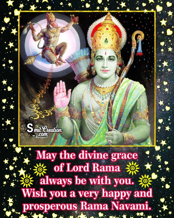 Shri Ram Navami Wishes in English