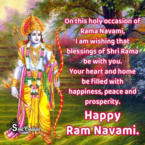 Best Happy Ram Navami Wishes Messages