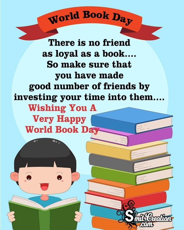 Wishing A Very Happy World Book Day