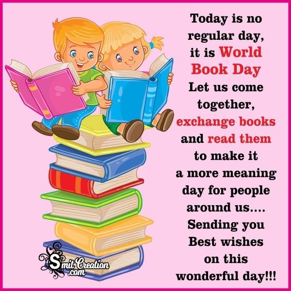 World Book Day Best Wishes