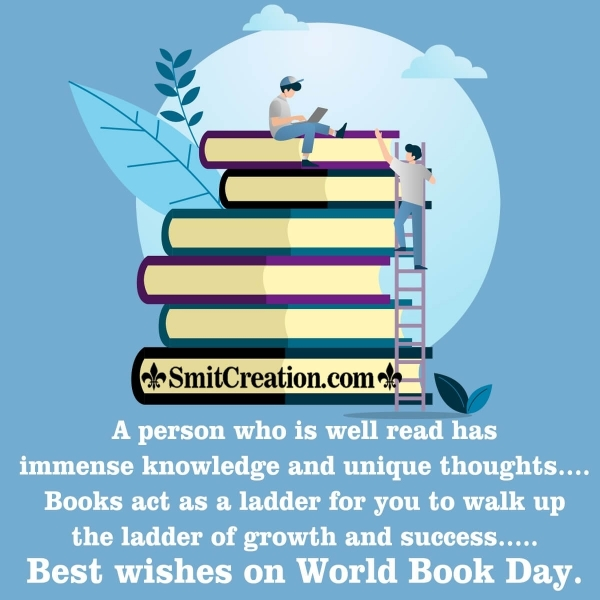 Best Wishes On World Book Day Image
