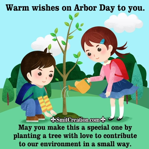 Happy Arbor Day Wishes