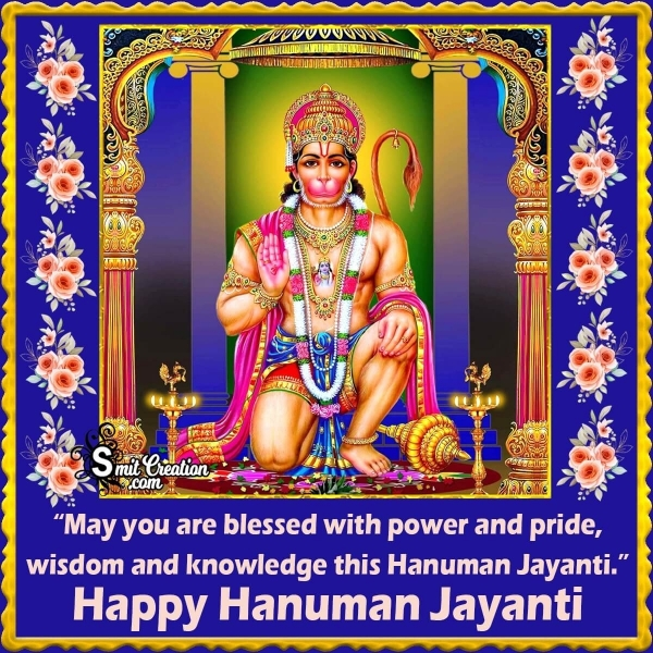 Happy Hanuman Jayanti Blessings