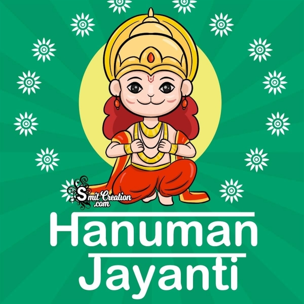 Happy Hanuman Jayanti Cute Pic