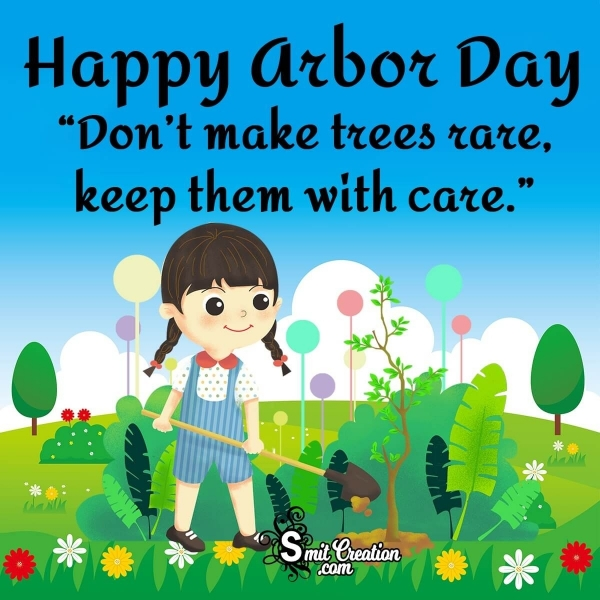 Happy Arbor Day Slogan