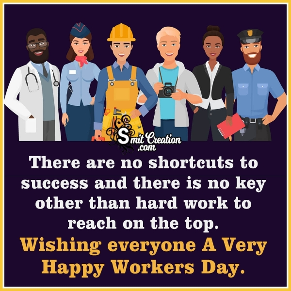 Happy Workers Day Wish Image