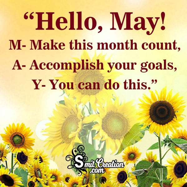 Hello May Quote