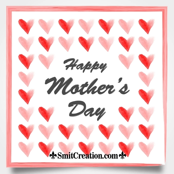 Happy Mothers Day Hearts Pic