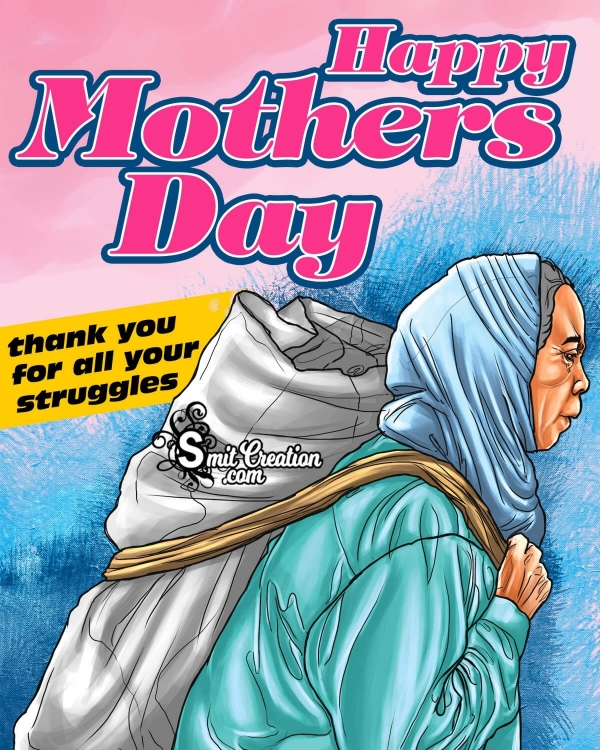 Happy Mothers Day Thank You Image