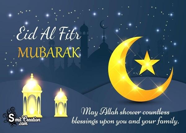 Eid-Al-Fitr Mubarak Wishes in English