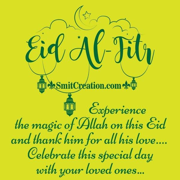 Eid-Al-Fitr Mubarak Messages