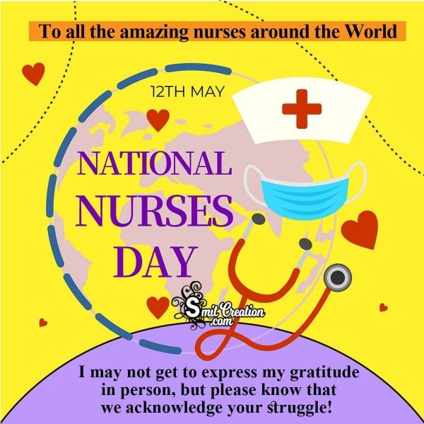 12 MAY Happy Nurses Day