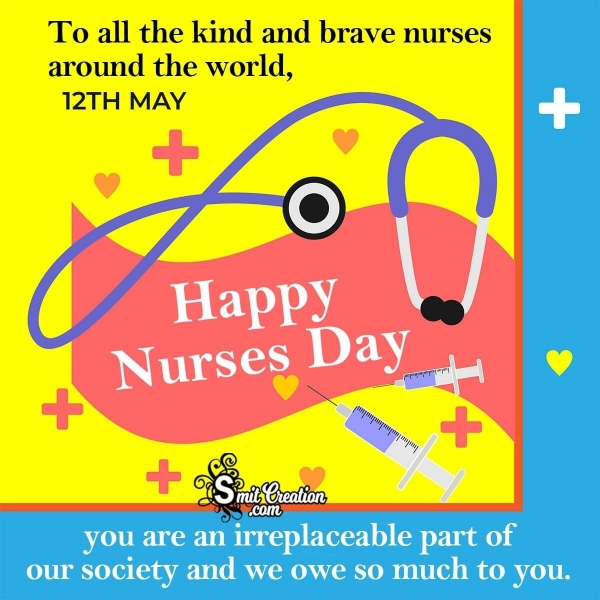 12 MAY National Nurses Day Quote