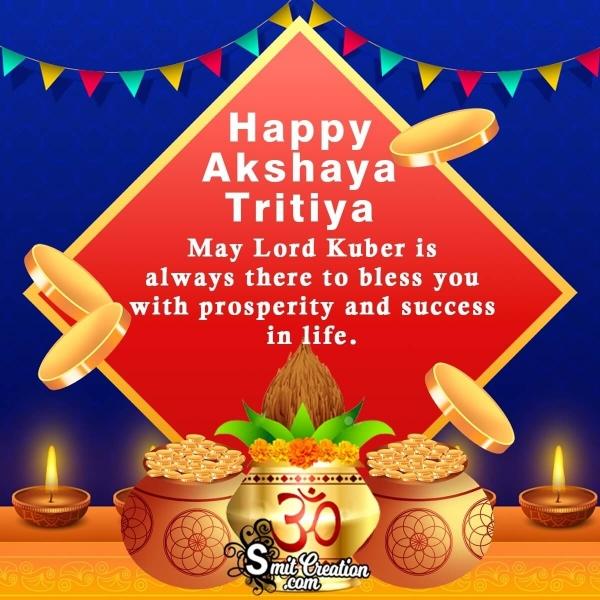Happy Akshaya Tritiya Blessings