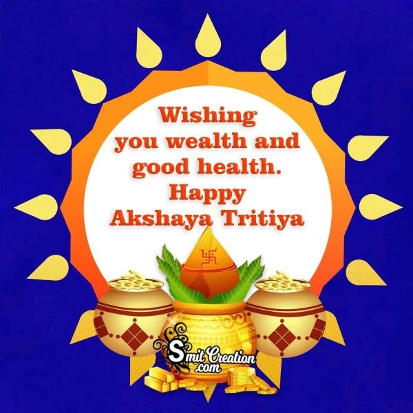 Happy Akshaya Tritiya Wish