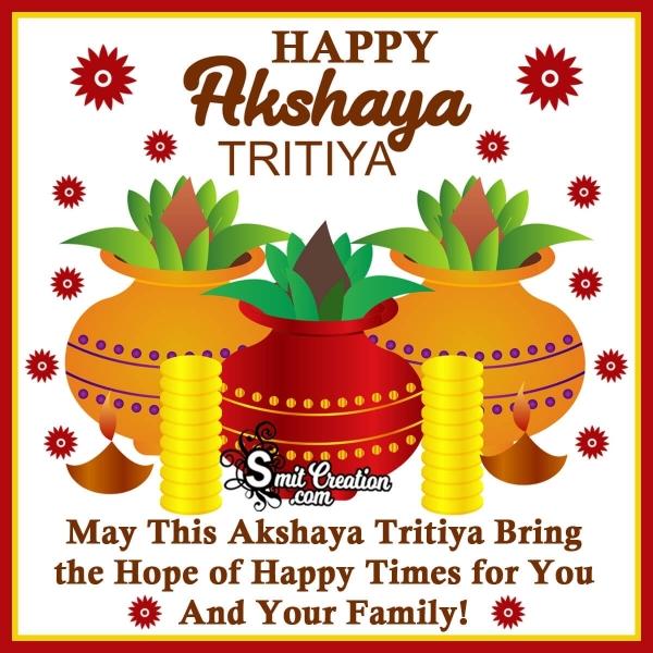 Happy Akshaya Tritiya Wish Image