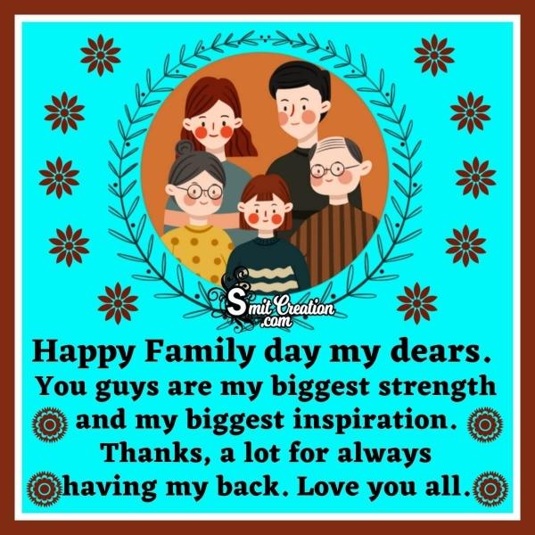 Happy Family Day Quotes