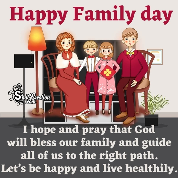 Happy Family Day Messages