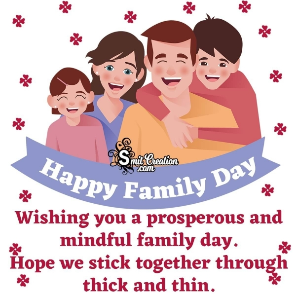 Happy Family Day Wish Greetings