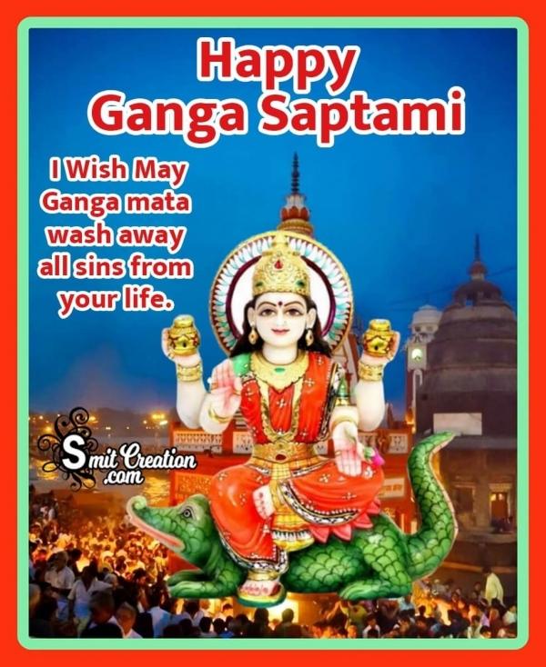 Happy Ganga Saptami Wish Image