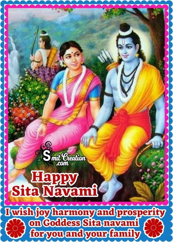Happy Sita Navami Wish Image
