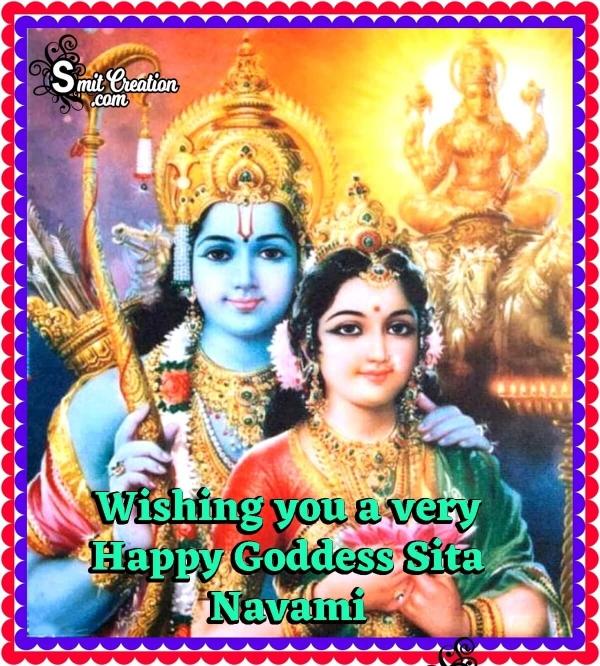 Wishing A Very Happy Sita Navami