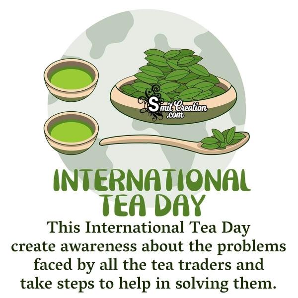 International Tea Day Awareness Image