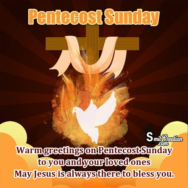 Pentecost Greeting Messages