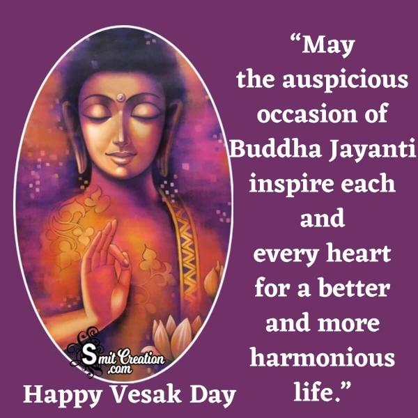 Happy Vesak Day Message