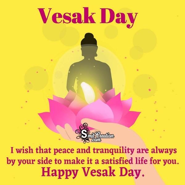 Happy Vesak Day Wish Image