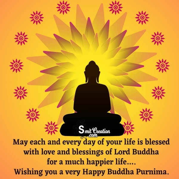Wishing A Very Happy Buddha Purnima