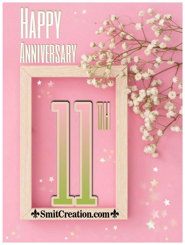 Happy 11th Anniversary Wish Photo