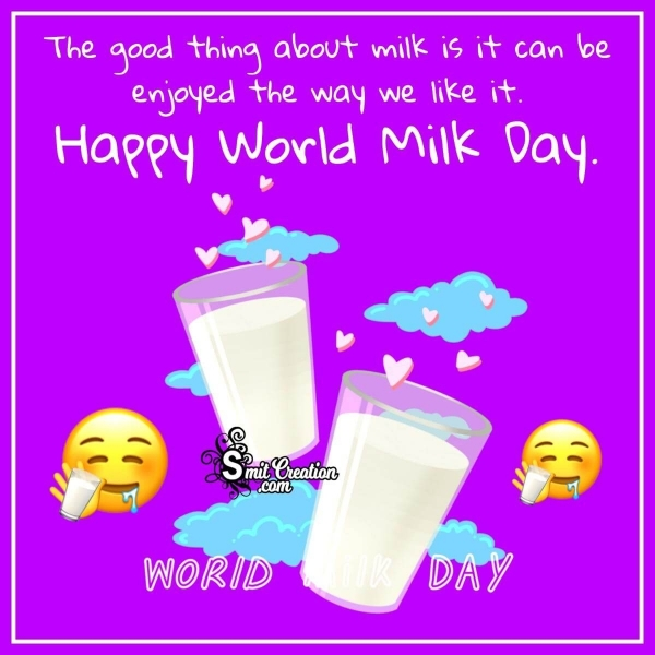 World Milk Day Image