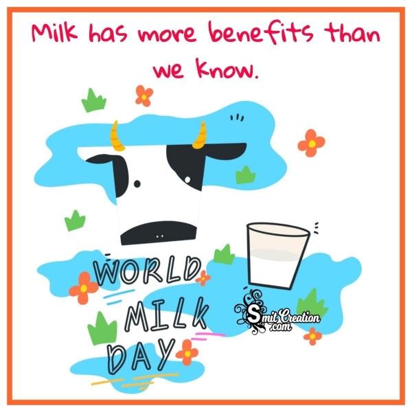 Happy World Milk Day Pic