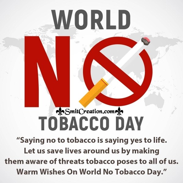 World no Tobacco Day Poster Messages