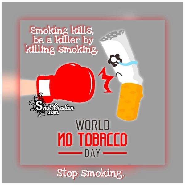World No Tobacco Day Quote Image